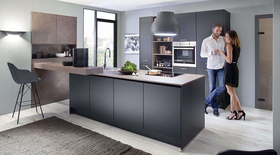 wohnstudio a neuhaus sohn tn38 touch von nobilia k chen. Black Bedroom Furniture Sets. Home Design Ideas