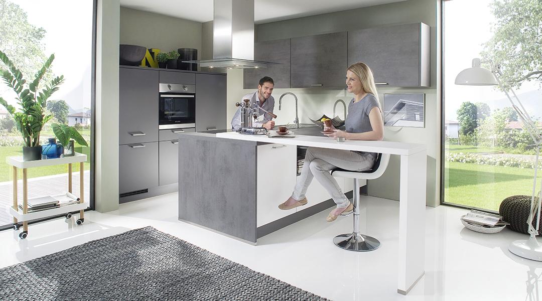 wohnstudio a neuhaus sohn tn40 touch von nobilia k chen. Black Bedroom Furniture Sets. Home Design Ideas