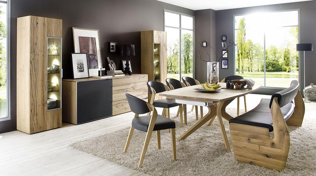 wohnstudio a neuhaus sohn systemm bel v alpin von voglauer. Black Bedroom Furniture Sets. Home Design Ideas
